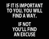 If it's Important To You