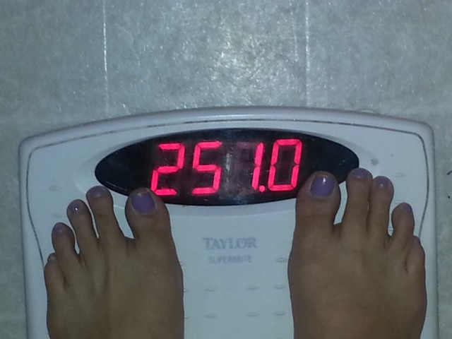 Weight Aug 12 2013