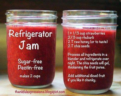 Refrigerator jam
